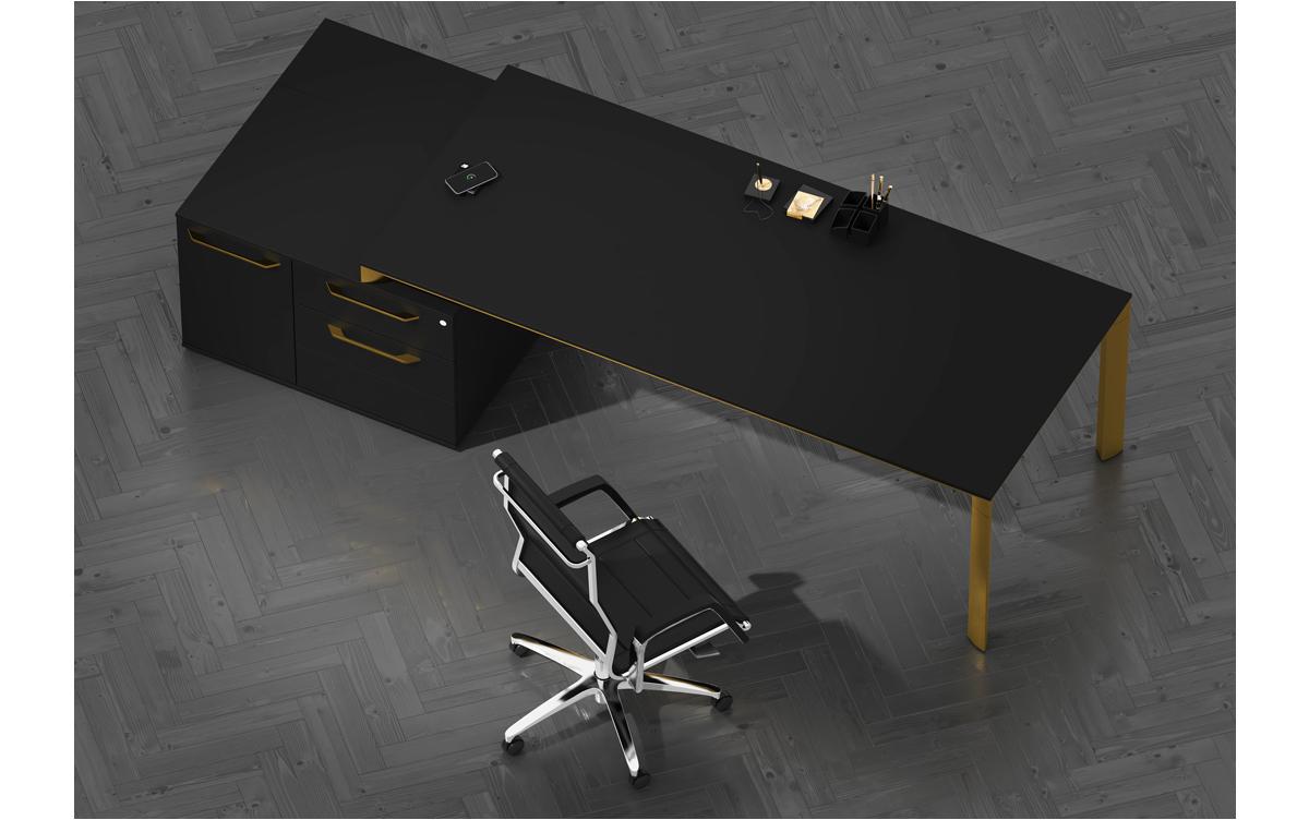 میز مدیریت فلزی
