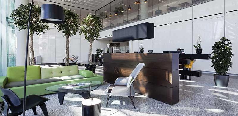 طراحی فضای اداری برای کاهش استرس در محل کار