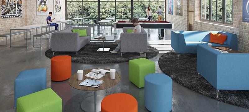 طراحی اتاق استراحت برای محل کار