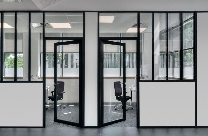 بهینه سازی فضای دفتر کار با پارتیشن بندی